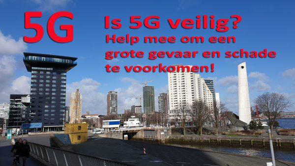 5G installeren ondanks al de risico's voor mensen, dieren en de natuur?